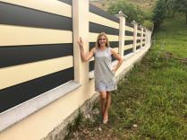 Забор «Полоска»
