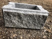 Блок  «Столбчатый рваный»